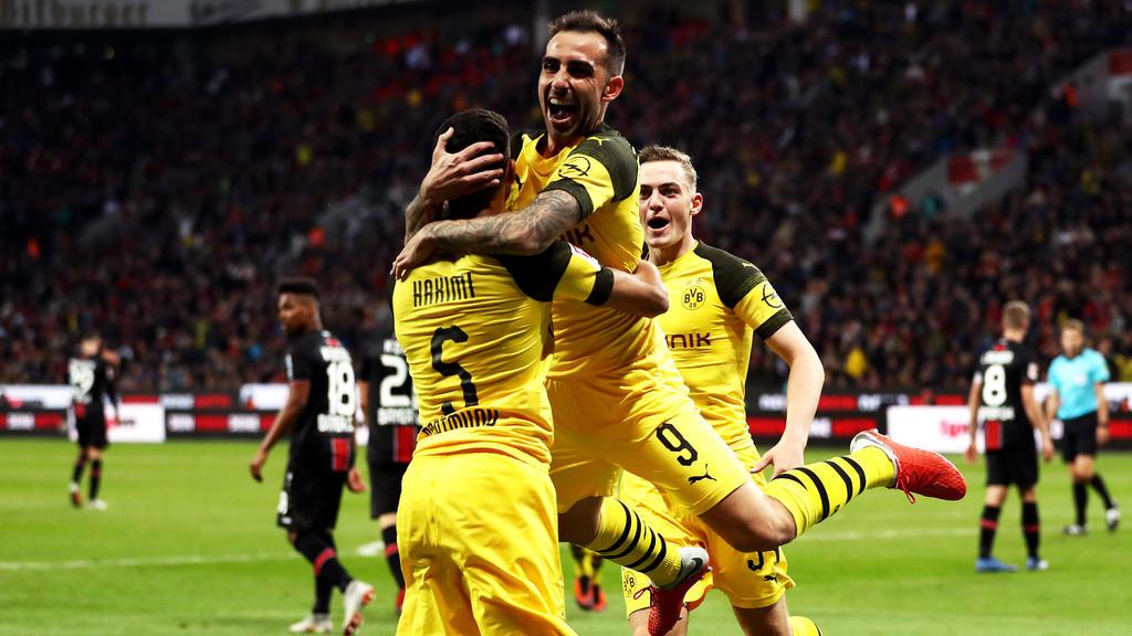 Paco Alcácer erzielte nach Einwechslung zwei Tore für den BVB