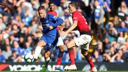 Chelsea und ManUnited teilten sich die Punkte