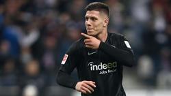 Vom FC Bayern und Barca umworben: Luka Jovic von Eintracht Frankfurt