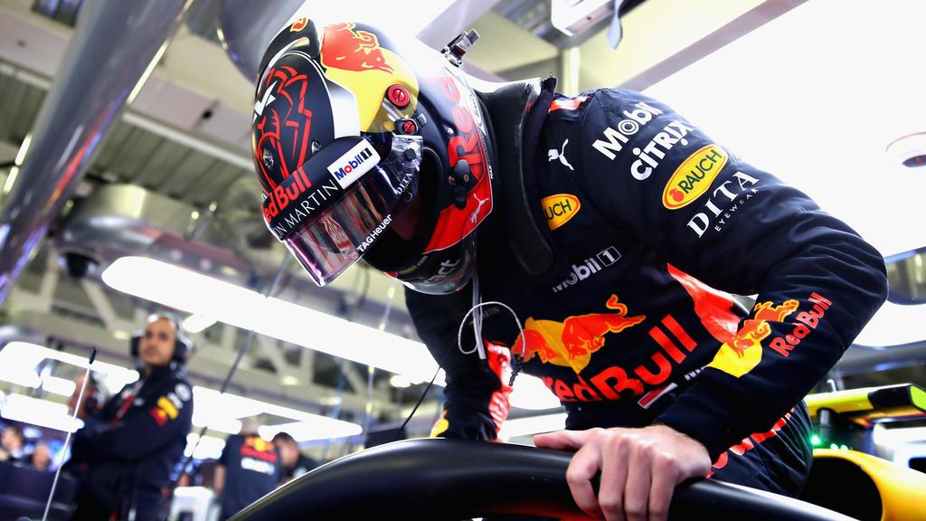 Max Verstappen war von Daniel Ricciardos Jubel nicht wirklich angetan
