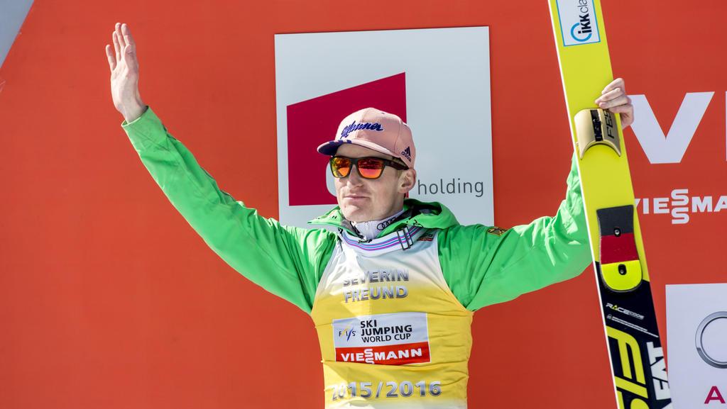 Severin Freund ist endlich zurück im Weltcup