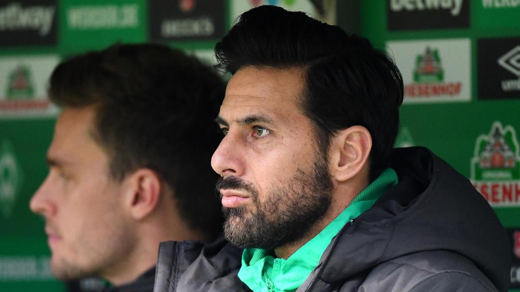 Pizarro könnte gegen Leverkusen fehlen
