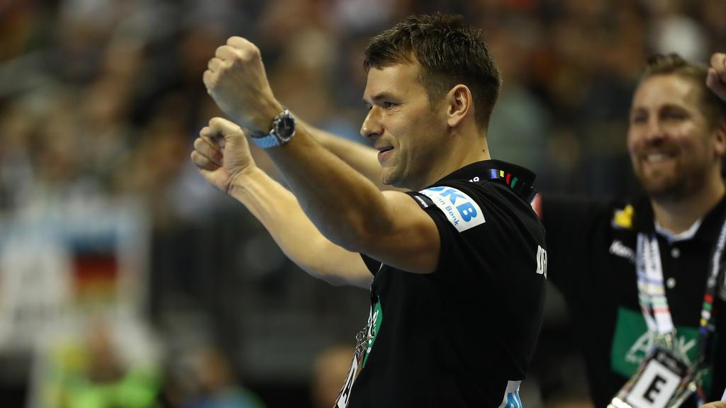 Zufrieden: DHB-Coach Christian Prokop