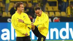 Erfolgreiches Duo beim BVB: Mario Götze (li.) und Paco Alcácer
