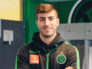 Der neue Stürmer beim FC Wacker Innsbruck: Muhammed Kiprit © FCW/Senfter