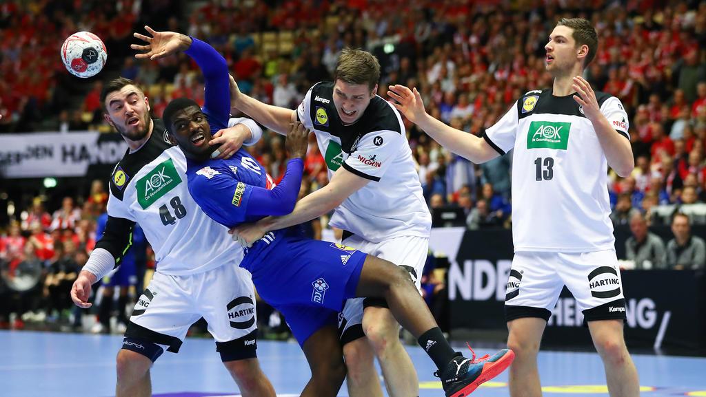 Deutschland hatte im Spiel um Platz 3 bei der Handball-WM das Nachsehen gegen Frankreich