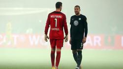Jeffrey Bruma (r.) läuft in der Rückrunde für Schalke 04 auf