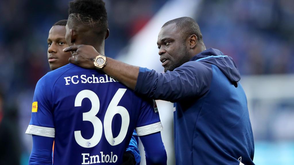 Gerald Asamoah fungiert aktuell als Teammanager des FC Schalke 04