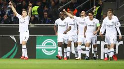 Die Eintracht setzte sich hochverdient gegen Inter Mailand durch