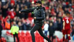 Jürgen Klopp und der FC LIverpool feierten einen wichtigen Sieg gegen Tottenham