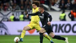 David Luiz en las semifinales contra el Eintracht en la Europa League. (Foto: Getty)