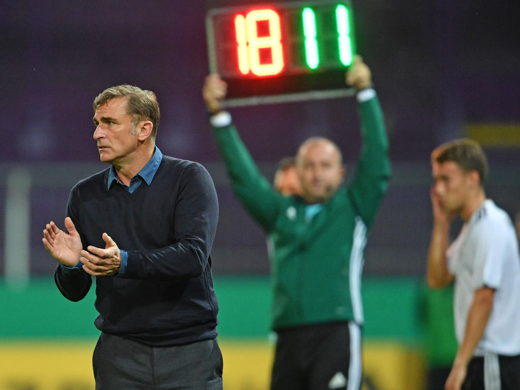 Stefan Kuntz will den nächsten Sieg mit der deutschen U21-Nationalmannschaft