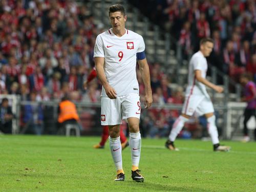 Robert Lewandowski und die polnische Nationalmannschaft sind im ersten Lostopf