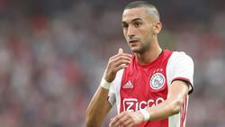Ziyech marcó uno de los goles del Ajax en Grecia.