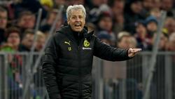 Lucien Favre bleibt vorerst Trainer beim BVB