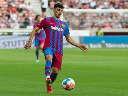 Yusuf Demir scheint es beim FC Barcelona zu gefallen