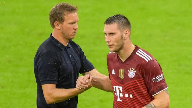 FCB-Coach Julian Nagelsmann stärkt Niklas Süle den Rücken