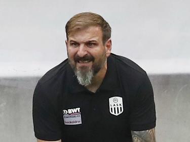 LASK-Coach Wieland hofft auf das nächste Erfolgserlebnis