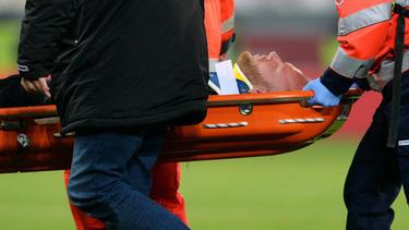 Kevin Vogt wurde nach dem Zusammenprall direkt ins Krankenhaus gebracht