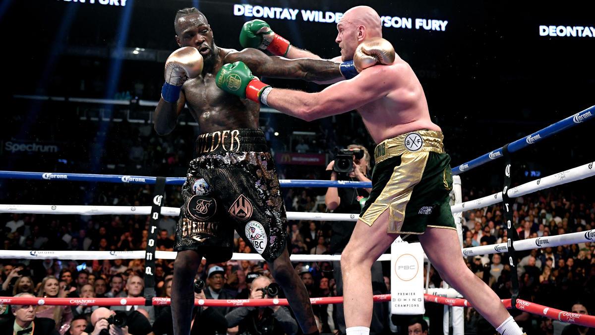 Deontay Wilder und Tyson Fury treffen sich am Samstag in Las Vegas