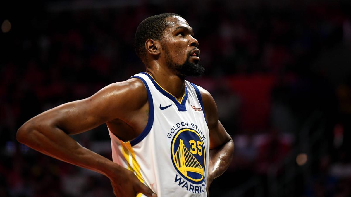 Kevin Durant  steht jetzt bei den Brooklyn Nets unter Vertrag