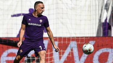 Florenz verpasst Sieg beim Comeback von Frank Ribery
