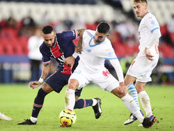 Neymar in fußballerischen Duell