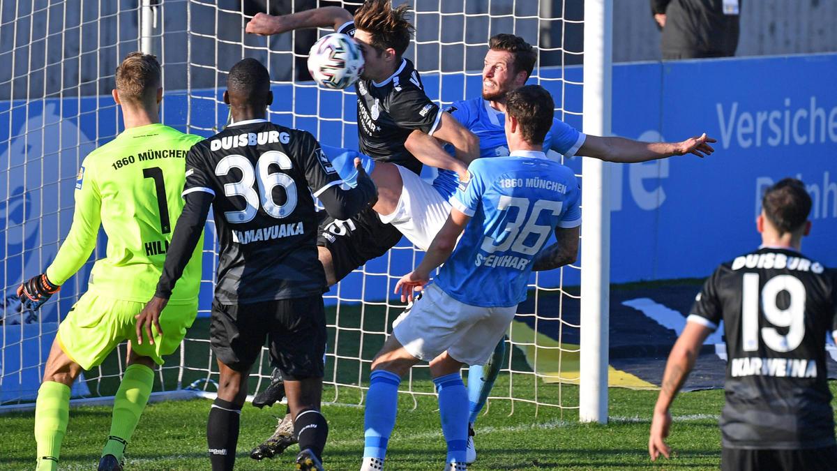 Niederlage für 1860 München in der 3. Liga