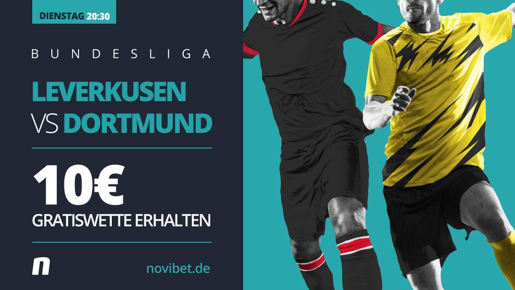 Am Dienstag bestreiten Bayer Leverkusen und Borussia Dortmund das Topspiel des 17. Spieltags