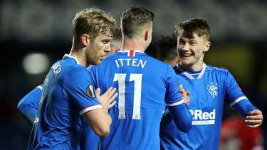 Meisterschaft für die Rangers nah - Fans feiern schon