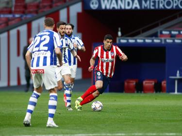 Luis Suárez volvió a darle tres puntos en un partido complicado.