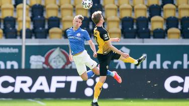 Kein Sieger zwischen Dynamo Dresden und Hansa Rostock