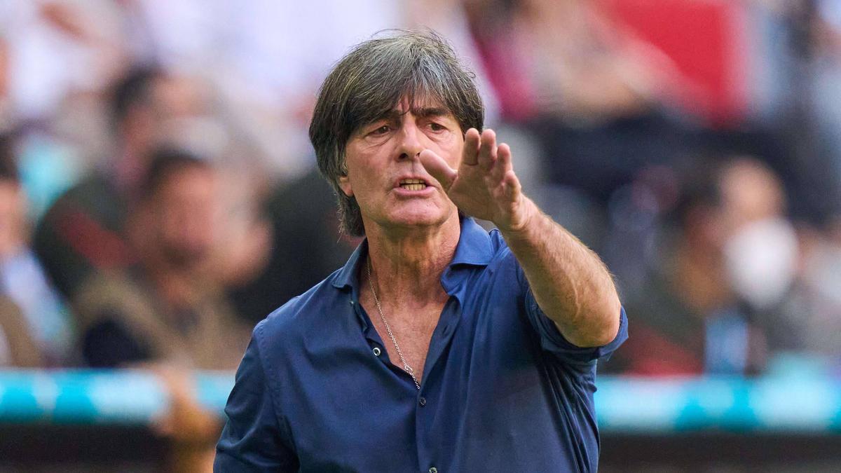 Joachim Löw legte den Fokus auf das Spiel gegen Ungarn