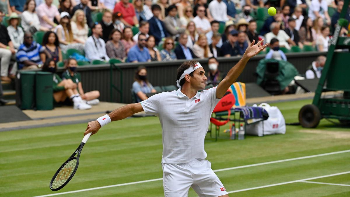 Roger Federer steht im Wimbledon-Viertelfinale