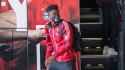 Alphonso Davies vom FC Bayern hat sich verlezt