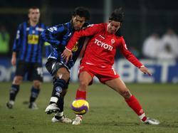 Serie A 2007/2008: Atalanta Bergamo vs. AC Florenz (2:2)