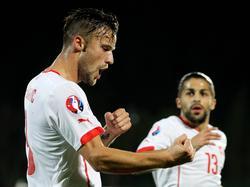 Haris Seferović hatte in San Marino gleich zwei Mal Grund zu jubeln