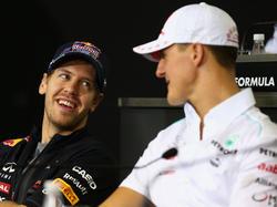 Vettel und Schumi