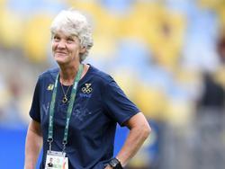 Gute Laune vorm Finale: Pia Sundhage will Gold gewinnen