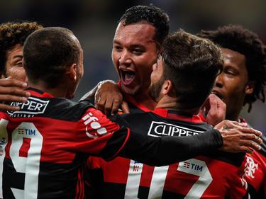 Los rojinegros siguen su persecución al Palmeiras que no falla en el liderato. (Foto: Getty)