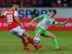 Der 1. FSV Mainz 05 und der VfL Wolfsburg trennten sich unentschieden