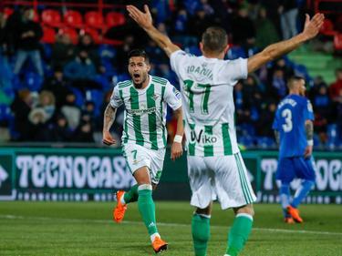 Sergio León marcó el gol de la victoria del Betis en Getafe: (Foto: Imago)