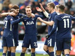 El danés Eriksen lideró a al Tottenham a 'semis' de la FA Cup. (Foto: Getty)