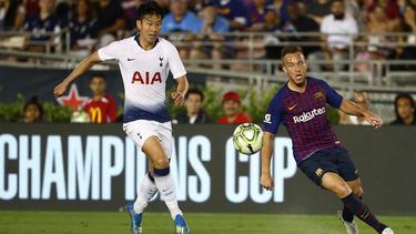Heung-min Son soll auf der Liste des FC Bayern stehen