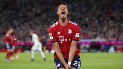 Sandro Wagner und seine Bayern mussten mit einem Punkt gegen Augsburg leben