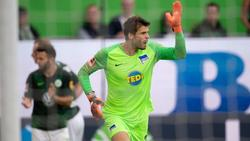 Rune Jarstein steht im Aufgebot von Hertha BSC für das Spiel bei Mainz 05