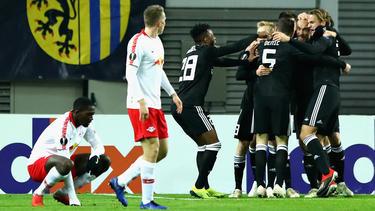 RB Leipzig kam nicht über ein Remis gegen Trondheim Rosenborg hinaus