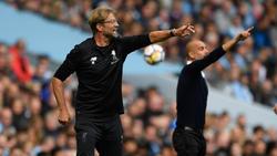 Jürgen Klopp will mit dem FC Liverpool bei Manchester City bestehen