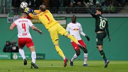 RB Leipzig steht im Viertelfinale des DFB-Pokals