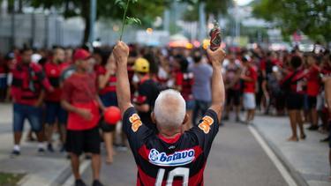 Flamengo-Fans trauern um die Opfer